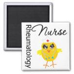 Enfermera de la reumatología del polluelo v1 de la iman de frigorífico