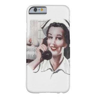 Enfermera de la sala de hospital del vintage en el funda para iPhone 6 barely there