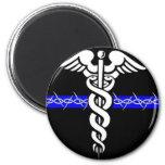 Enfermera de las correcciones imán