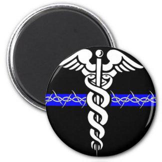 Enfermera de las correcciones imán redondo 5 cm