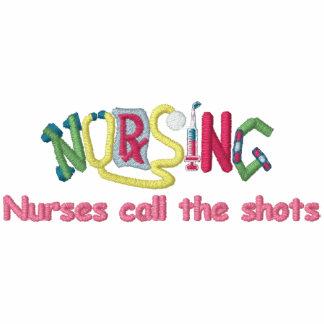 Enfermera de los tiros de la llamada