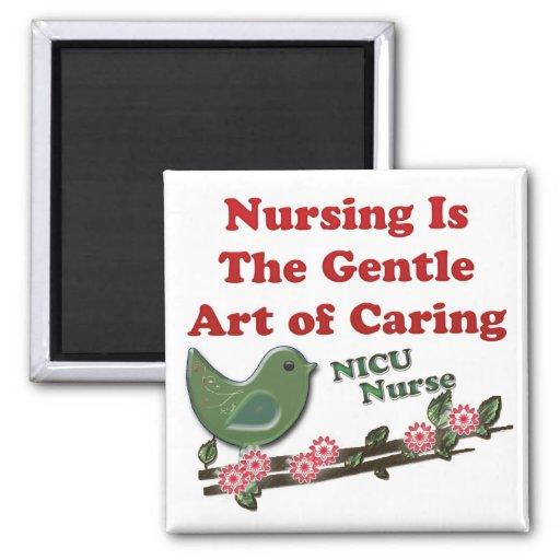 Enfermera de NICU Imanes De Nevera