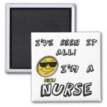 Enfermera de NICU Imán Para Frigorífico