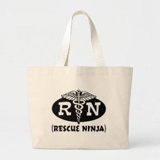 Enfermera de Ninja Bolsa Tela Grande