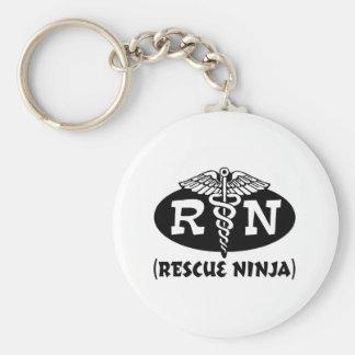 Enfermera de Ninja Llaveros Personalizados