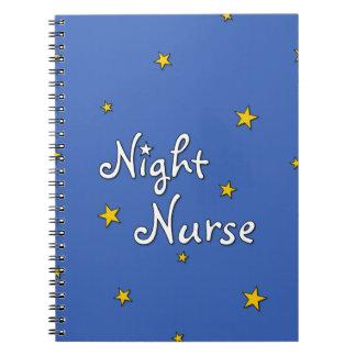 Enfermera de noche libreta