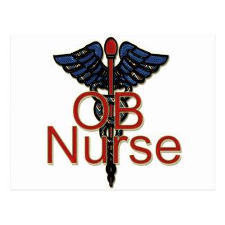 Enfermera de OB Postal