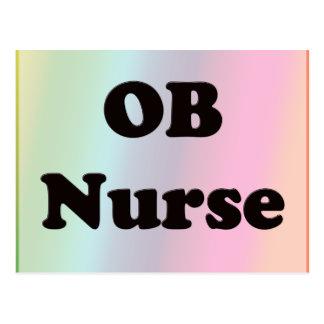 Enfermera de OB Postales