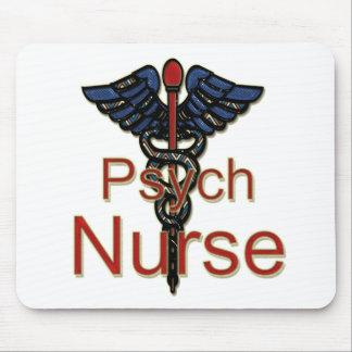 Enfermera de Psych Alfombrillas De Ratones