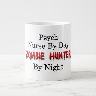 Enfermera de Psych/cazador del zombi Taza De Café Grande