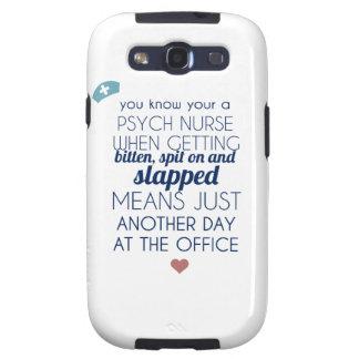Enfermera de Psych Galaxy S3 Cobertura