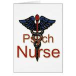 Enfermera de Psych Tarjeta