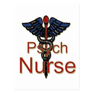 Enfermera de Psych Tarjeta Postal