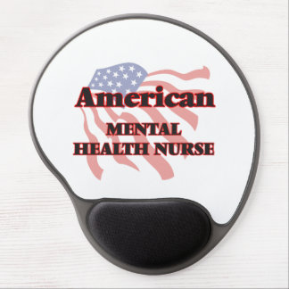 Enfermera de salud mental americana alfombrilla para ratón de gel