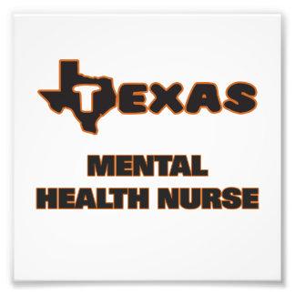 Enfermera de salud mental de Tejas Cojinete
