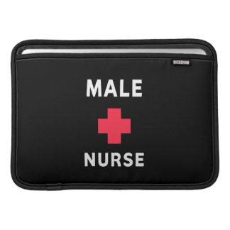 Enfermera de sexo masculino fundas macbook air