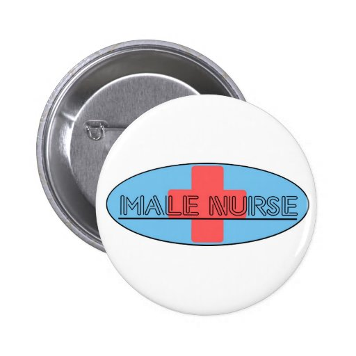 Enfermera de sexo masculino pins
