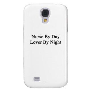 Enfermera del amante del día por noche funda para galaxy s4