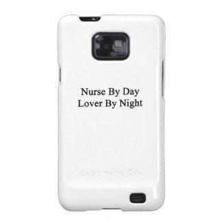 Enfermera del amante del día por noche samsung galaxy s2 funda