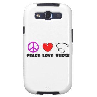 Enfermera del amor de la paz galaxy SIII coberturas