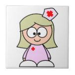 Enfermera del dibujo animado