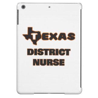Enfermera del distrito de Tejas Funda Para iPad Air
