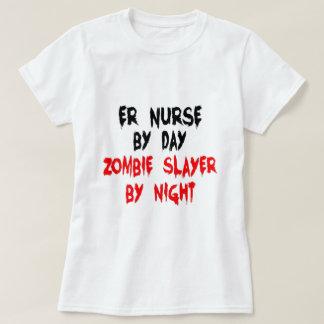 Enfermera del ER del asesino del zombi Playera