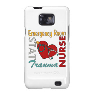 Enfermera del ER Galaxy S2 Carcasas