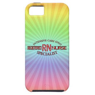 ENFERMERA DEL ESPECIALISTA DEL RN ICU iPhone 5 FUNDAS
