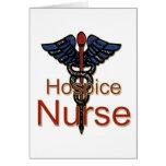Enfermera del hospicio felicitación