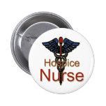Enfermera del hospicio pin