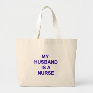 Enfermera del marido bolsa