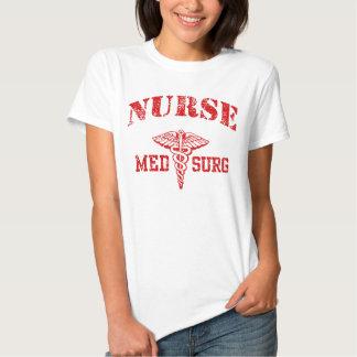 Enfermera del MED Surg Playeras
