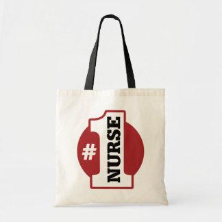 Enfermera del número 1 bolsa