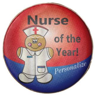 Enfermera del pan de jengibre de las invitaciones
