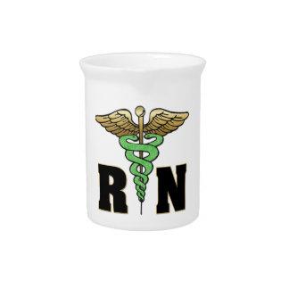 Enfermera del RN Jarra De Beber