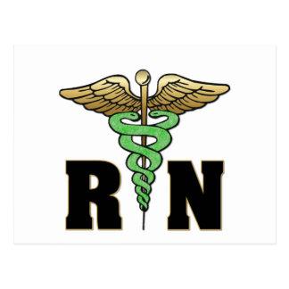 Enfermera del RN Postales