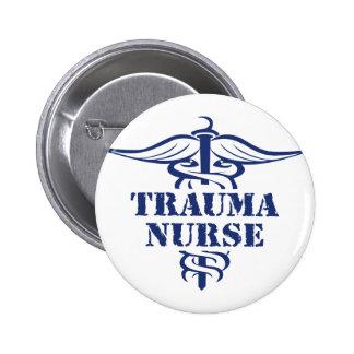enfermera del trauma pin redondo de 2 pulgadas