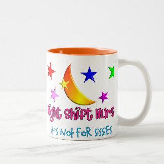 """Enfermera del turno de noche """"no está para las mar tazas de café"""