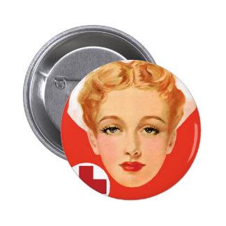 Enfermera del vintage pin