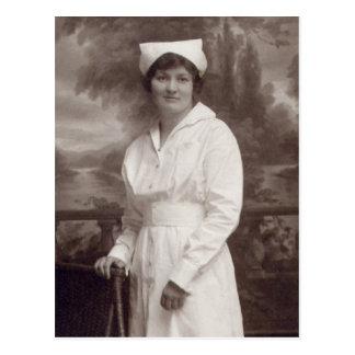 Enfermera del vintage tarjeta postal
