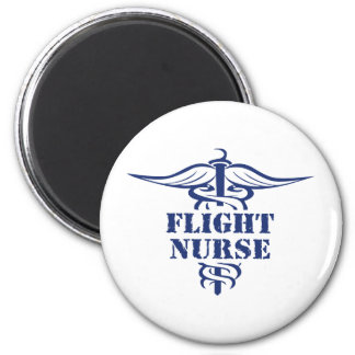 enfermera del vuelo imán de frigorifico