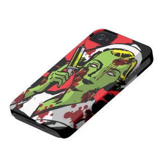 Enfermera del zombi del caso del iPhone 4 del iPhone 4 Case-Mate Cobertura