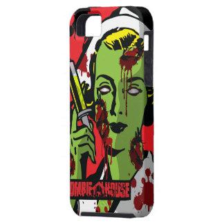 Enfermera del zombi del caso del iPhone 5 del iPhone 5 Fundas