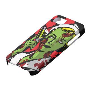 Enfermera del zombi del caso del iPhone 5 del zomb iPhone 5 Case-Mate Protectores
