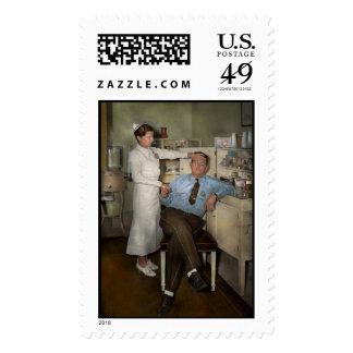 Enfermera - día enfermo - 1937 sello
