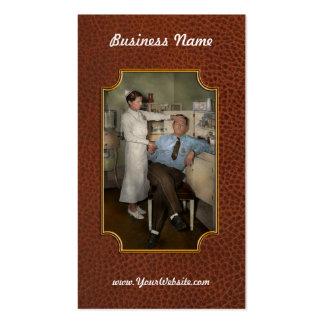Enfermera - día enfermo - 1937 tarjetas de visita