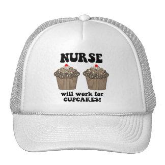 Enfermera divertida gorros