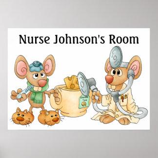 Enfermera/el doctor Poster - SRF