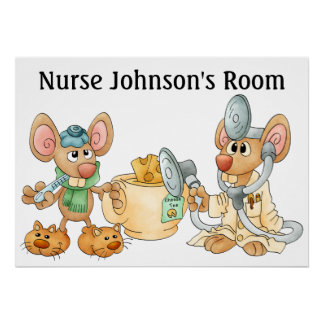 Enfermera/el doctor Poster - SRF Póster